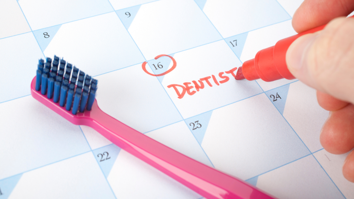 Why visit the dentist twice a year
